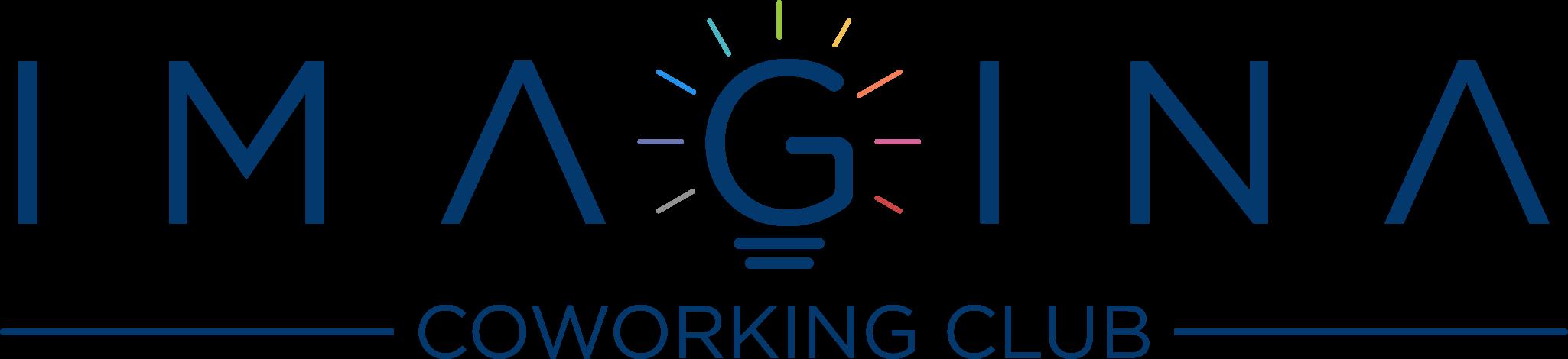 Logotipo de Imagina Coworking Club