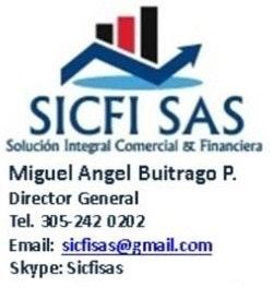 Logotipo de Solucion Integral Comercial y Financiera Sicfi
