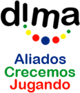 Logotipo de Dima Juguetes