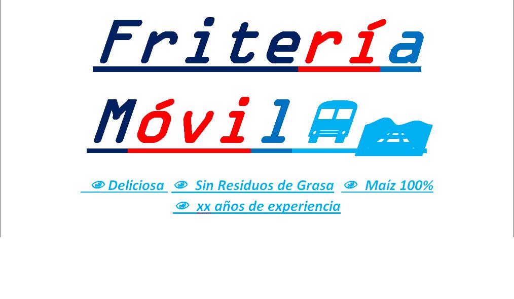Logotipo de Fritos Moviles