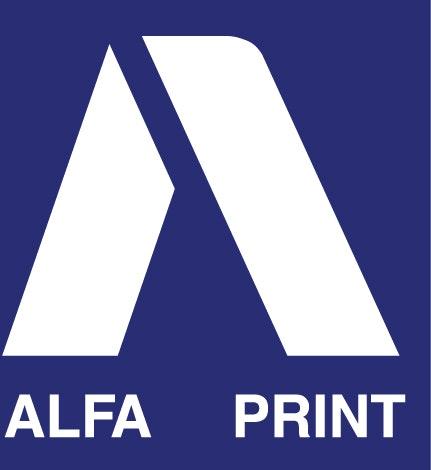 Logotipo de Alfa Print
